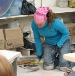 Heidi Making Parts